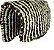 Baixeiro de Lã de Carneiro Trançado - Imagem 1