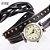 Relógio CCQ Vintage Retrô Trançado - Imagem 4