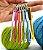Chaveiro Mini agulha de Crochê - Imagem 2