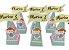 Caixa Cone Circo Rosa com 06 unidades  - Imagem 1