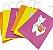 Sacola de papel Lhama com 06 unidades  - Imagem 1