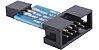 Módulo Adaptador USBasp AVRISP para Gravador AVR - Imagem 1