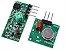 Módulo RF Transmissor + Receptor AM (315MHz ou 433MHz)  - Imagem 1