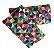 KIt Protetor de alças de ErgoSlingaê Triângulos (do Caqui e Jeans) - Imagem 1