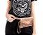 Bolsa pochete Belt Petite jolie PJ4411  croco/croco rose/rose - Imagem 3