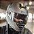 Capacete X11 Turner Solid Prata Fosco Metálico Articulado com Viseira Solar - Imagem 5