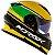 Capacete Norisk FF302 Champion Amarelo (C/ Viseira Solar) - Imagem 1
