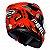 Capacete Peels Icon Maus Vermelho com Preto - Imagem 3