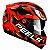 Capacete Peels Icon Maus Vermelho com Preto - Imagem 1