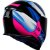 COMBO - Capacete Axxis Eagle Tecno Preto Gloss Pink e Azul - Imagem 6