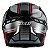 Capacete X11 Volt Dash Preto Vermelho - Imagem 2