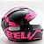 Capacete Bell Qualifier Snow Pink Black Fosco - Imagem 4