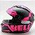 Capacete Bell Qualifier Snow Pink Black Fosco - Imagem 2