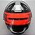 Capacete Ls2 Ff320 Stream Bang (C/ Viseira Solar) Preto/Vermelho - Imagem 6