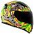 Capacete Ls2 Ff353 Novo Replica Alex Barros Amarelo - Imagem 1