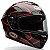 Capacete Bell Star TriMatrix Pace Black/ Red - Imagem 1