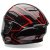 Capacete Bell Star TriMatrix Pace Black/ Red - Imagem 3