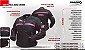 Jaqueta De Moto Feminina Nasa Laguna Preta e Rosa - Imagem 2
