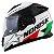 Capacete Norisk Ff302 Grand Prix Italia (C/Viseira Solar) Branco/Verde/Vermelho - Imagem 4