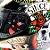 Capacete Mt Revenge Skull & Roses Preto/Vermelho - Imagem 8