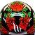 Capacete Mt Revenge Skull & Roses Preto/Vermelho - Imagem 7