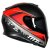 Capacete Mt Thunder 3 Avanti Preto Fosco E Vermelho - Imagem 1