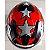 Capacete Zeus 811 Evo Top Gun Solid Black Al28 Preto e Vermelho - Imagem 4