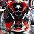 Capacete Zeus 811 Evo Top Gun Solid Black Al28 Preto e Vermelho - Imagem 3