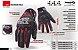 Luva De Moto Nasa Racing Shield Vermelha Motociclista - Imagem 4