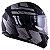 Capacete Ls2 FF320 Stream Hunter Matte Fosco Black Titanium (C/ Viseira Solar) - Imagem 1