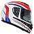 Capacete Nasa Racing Ns-901 França com viseira solar - Imagem 1