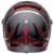 Capacete Bell Eliminator Hart Luck Matte Gloss Black Red - Imagem 3