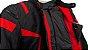 Jaqueta Motociclista FORZA Mugello 4 Season Preto e Vermelho - Imagem 7
