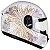Capacete Peels SPIKE Mandala Branco Pérolado e Dourado - Imagem 1