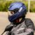 Capacete X11 Trust Solides Azul Fosco - Imagem 7