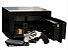 Cofre Eletrônico Pequeno Para  Valores e Joias Mod. Personal Black - Imagem 4