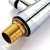 Misturador Monocomando Gourmet Design White / Cor Branco Mesa Bancada C/ Ducha 2 Jatos - Imagem 6