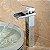 Misturador Monocomando Bica Alta Estilo Calha Para Banheiro - Imagem 3