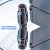 Ducha Articulada Redonda - Aço Inox - Design Slim - 20 x 20 - Ultrafina - Imagem 2