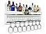 Barzinho de Parede MDF 100cm x 45cm Branco Fosco - Imagem 2