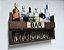 Barzinho de Parede MDF 60cm x 35cm Tabaco Fosco - Imagem 4