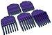 Pentes Magnéticos para Andis - Small Nano Silver Magnetic Comb Sets - Imagem 2