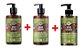 Kit Inoar Afro Vegan Shampoo + Condicionador + Ativador de Cachos - Imagem 1