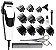 Máquina de Corte Wahl Quick Cut 110v (Dois Anos de Garantia) - Imagem 1