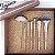 Kit com 7 Pincéis Profissionais Elegance - ED700 - Macrilan - Imagem 2