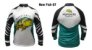 Camiseta De Pesca Monster 3x  tucunaré New Fish 07 Com Proteção Solar Uv  - Imagem 1