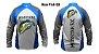 Camiseta De Pesca Monster 3x Tucunare Azul New Fish 03 Com Proteção Solar Uv  - Imagem 3