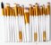 kit Profissional pinceis cerdas sinteticas 20 peçaS - Imagem 1