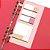 Caderno Otima Floral Vermelho - Imagem 5