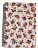 Caderno Colegial Cicero Floral Branco - Imagem 1